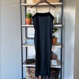 NWT Yohji Yamamoto Noir Classic Silk Dress